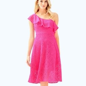 NWT Lilly Pulitzer PINK CALLISTO dress pink Cosmo